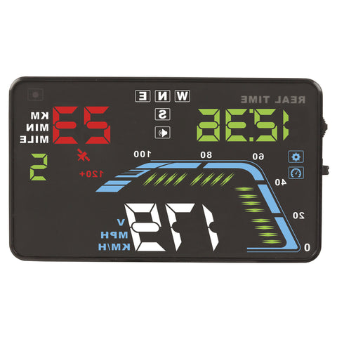 Heads Up Multifunction Display GPS 5.5In