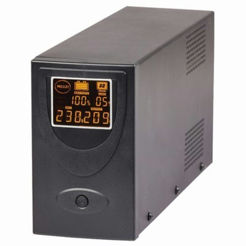 UPS 650VA/390W Line Interactive with LCD and USB