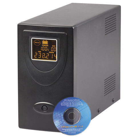 UPS 1500VA/900W 230VAC LCD Line Interactive with USB