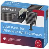 Solar Panel Suitable for Wire-Free Wi-Fi Cameras