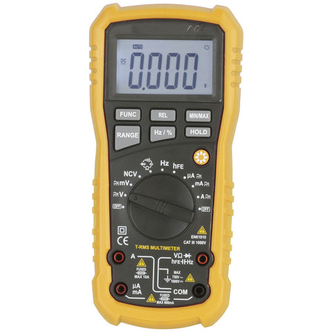 Multimeter Economy True RMS Autorange