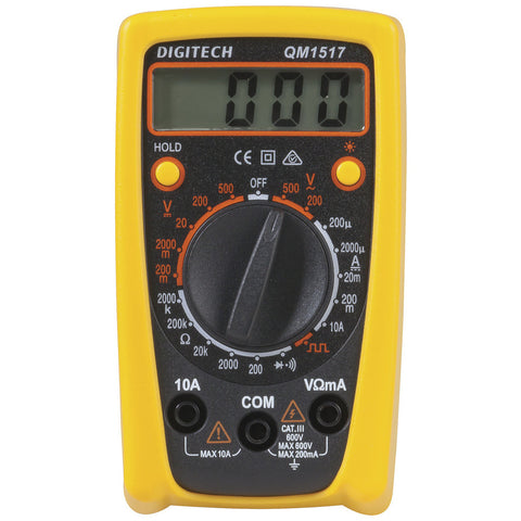 Multimeter Economy CatIII with Data Hold