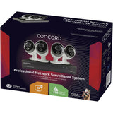 Concord 8 Channel 4K NVR Package - 4x4K Cameras