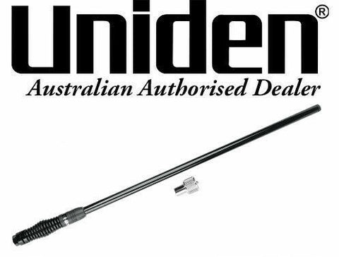 Uniden UHF AT500BK Fibreglass Radome Antenna – Black (5.5 dBi Gain)