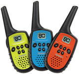 Uniden UH35-3 UHF 0.5W CB Handheld 2-way talk Radio 3 pack