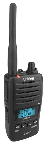 Uniden UH850S 5 Watt UHF Waterproof CB Handheld Radio
