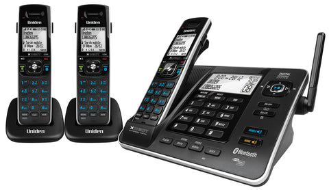 Uniden XDECT8355+1 Cordless Phone, Bluetooth