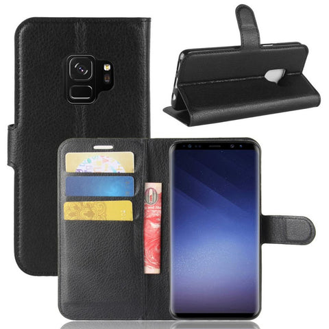 Samsung Galaxy J2 Pro Horizontal Flip Leather Case