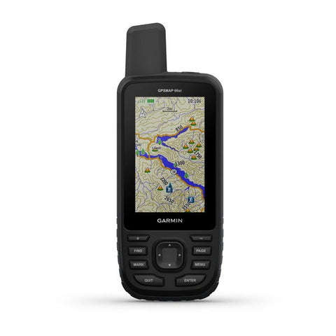Garmin GPSMAP® 66st Multisatellite Handheld with Sensors and TOPO Maps