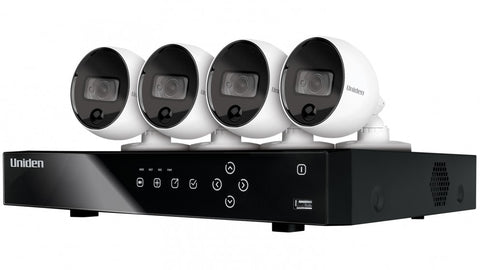 4 Camera, 8 Channel 2K Thermal sensing AI Security System