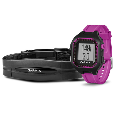 Garmin Forerunner 25 GPS Running Watch with Heart Rate Monitor