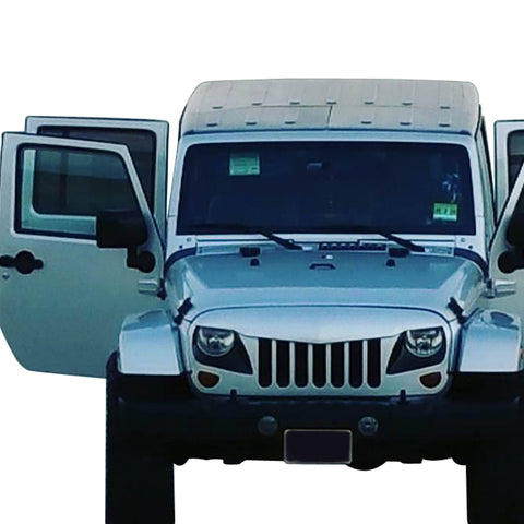 Safaripal Eagle Eye Grille Front Grill For Jeep Wrangler