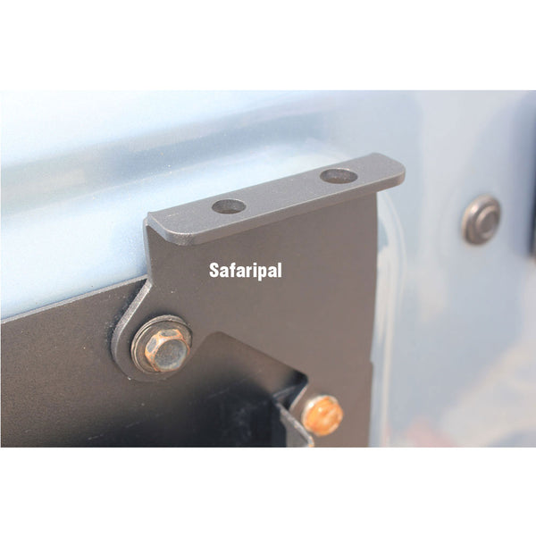 Safaripal CB Antenna Mount Flag Pole Rear Tailgate Spare Tire Bracket fits 2007-2016 Jeep Wrangler JK