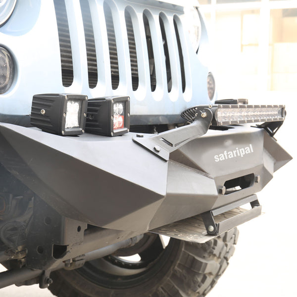 Safaripal Jeep Wrangler Monster Front Rear Bumpers for Jeep Wrangler Jk Rubicon Sahara Sports 2007-2017