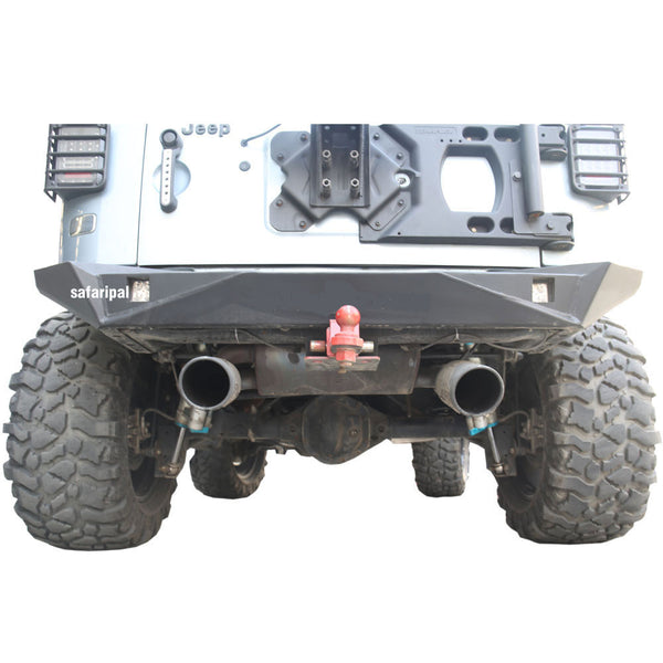 SAFARIPAL Jeep Wrangler Monster Rear Bumper For Jeep Wrangler JK Rubicon Sahara Sports 2007-2017