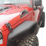 NEW Safaripal Aluminum Front Rear Fender Flare for JEEP Wrangler JK 2007-2017