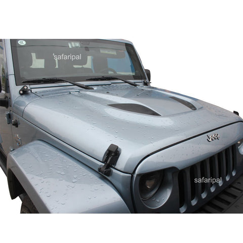 Safaripal 10th Anniversary Power Dome Style Hood for 2007-2015 Jeep Wrangler JK