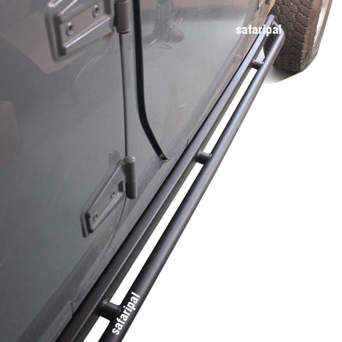 Safaripal Side Step Nerf Bar 10th Anniversary style for Jeep Wrangler JK 4 Door 2007-2017 Black