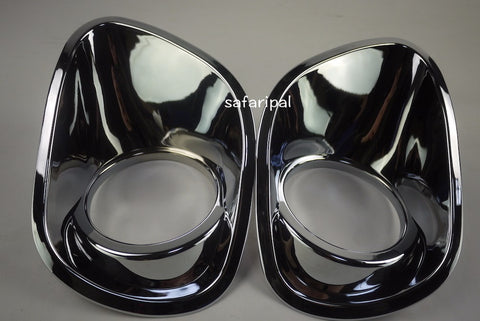 Safaripal Chrome Fog Light / Lamp Trim Bezel Cover for Jeep Patriot 1pair 2011-2013