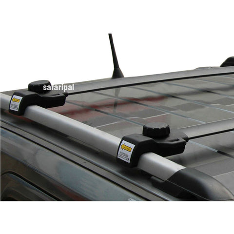 Safaripal Aluminum Roof Luggage Racks Crossbars OE Style for Jeep Patriot 2011-2014