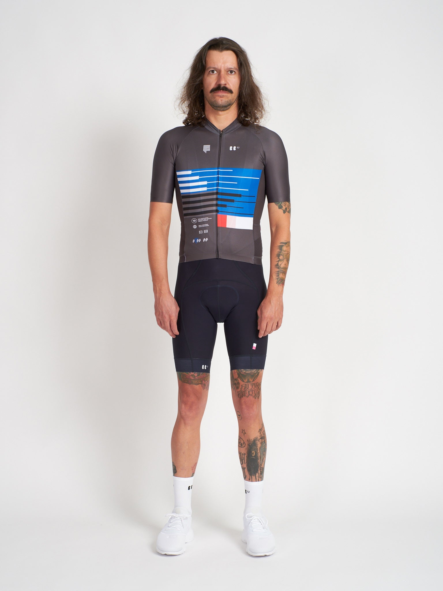 BBUC for Festka Cycling Jersey Blue