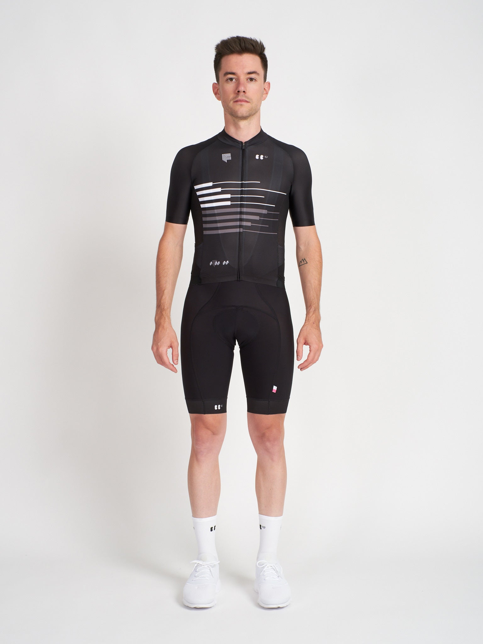 BBUC for Festka Cycling Jersey & Cycling Bibs Black
