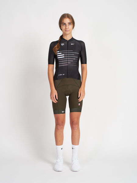 BBUC for Festka Cycling Jersey Black Women