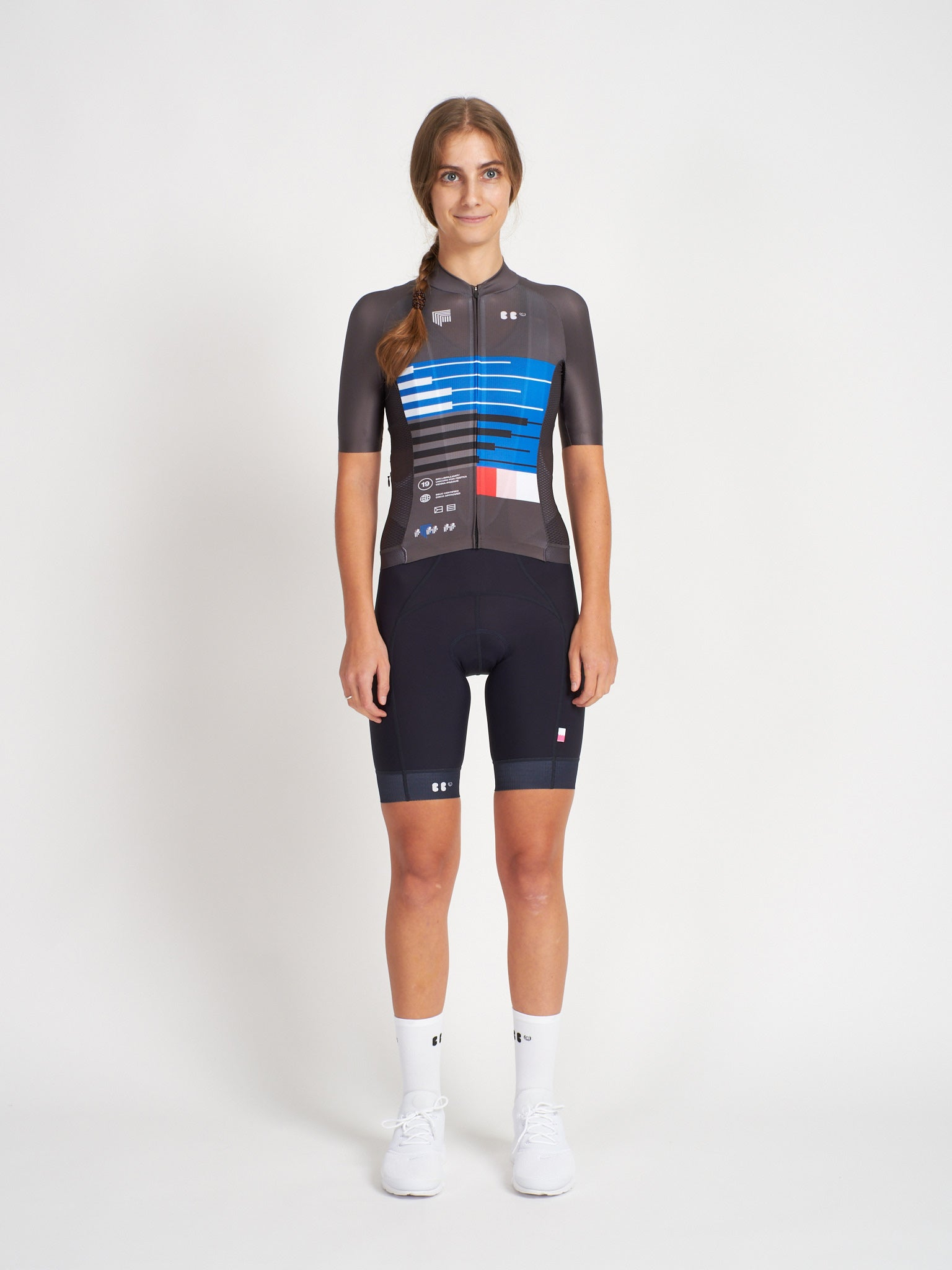 BBUC for Festka Cycling Jersey Blue Women