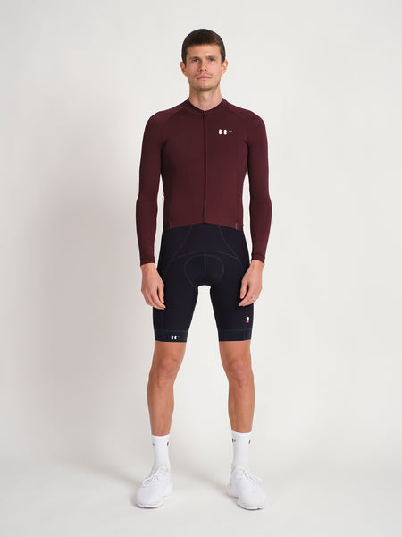 Everyday Longsleeve Jersey Burgundy