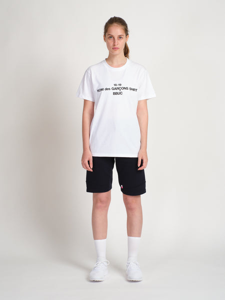 KOM des GARCONS T-Shirt White Women