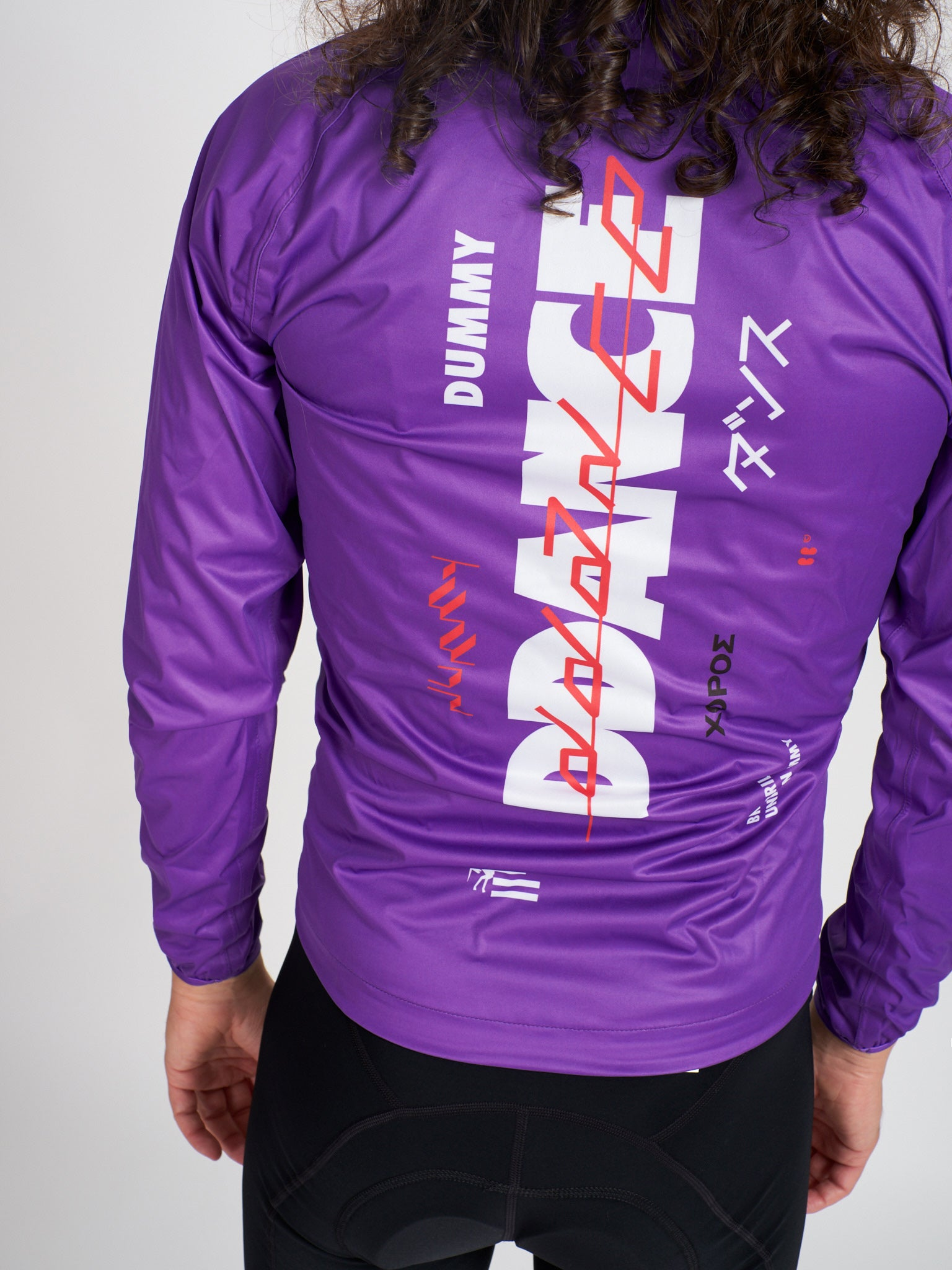Dummy Rain Jacket Purple