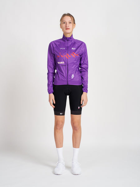 Dummy Rain Jacket Purple Women