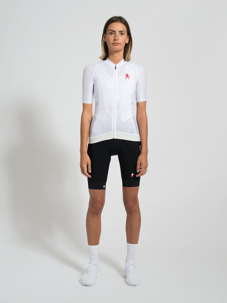 White Disco Jersey Women