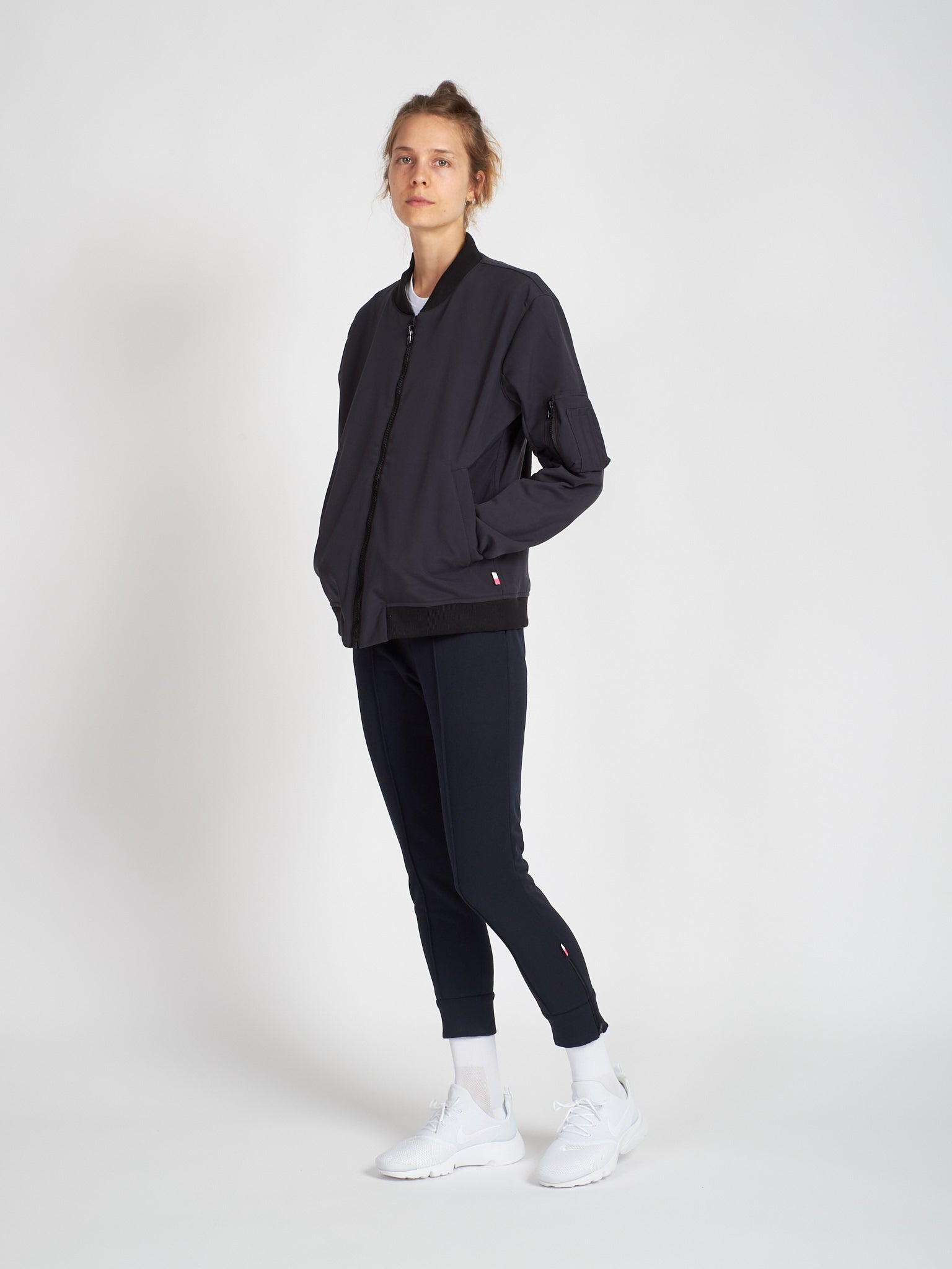 Carbon Bomber Jacket Women