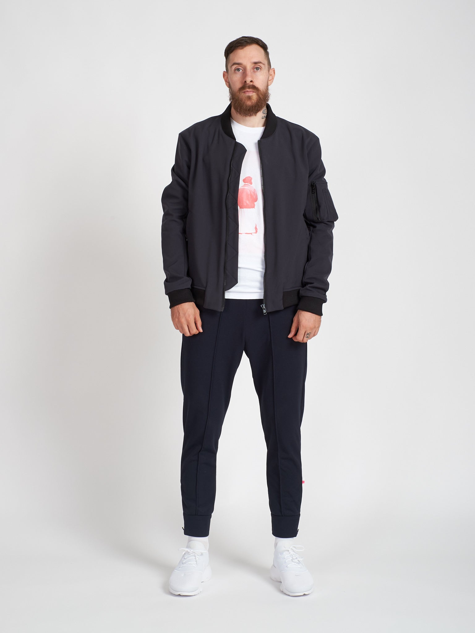 Carbon Bomber Jacket