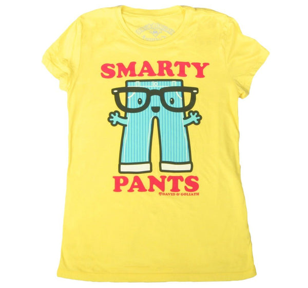 D&G Smarty Pants Junior Garment Dyed Tee