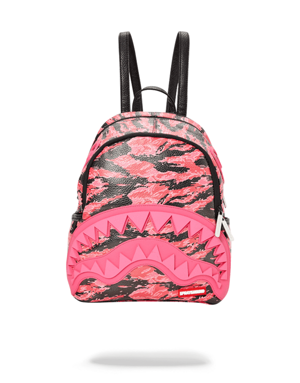 PINK TIGER CAMO SHARKMOUTH SAVAGE BACKPACK