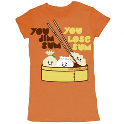 D&G You Dim Sum You Lose Sum Garment Dyed Tee Copper
