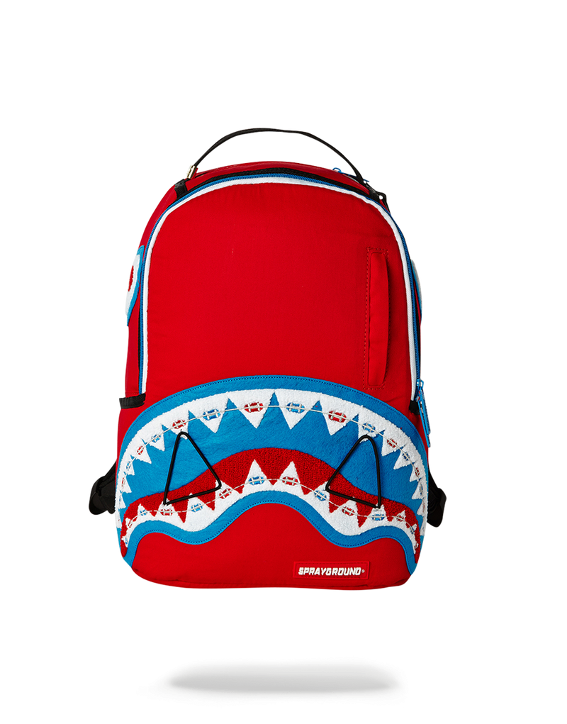 LIL BRACES SHARK (RED)