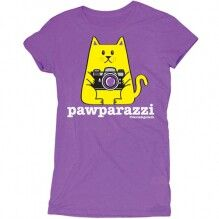 D&G Pawparazzi Junior Garment Dyed Tee