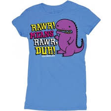 D&G Rawr! Means Rawr Junior Garment Dyed Tee