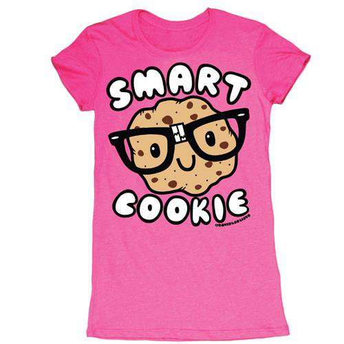 D&G Smart Cookie Junior Garment Dyed Tee