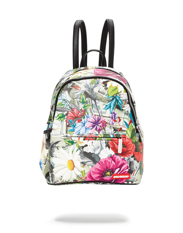FLORAL MONEY SAVAGE BACKPACK