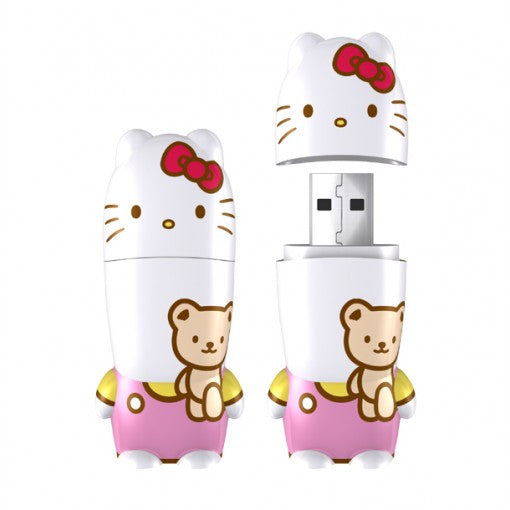 MIMOBOT® HELLO KITTY® WITH BEAR USB FLASHDRIVE