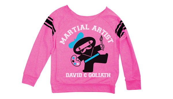 D&G Martial Artist Sports Fleece Hot Pink
