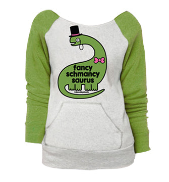 D&G Fancy Schmancy Raglan Pocket Sweatshirt