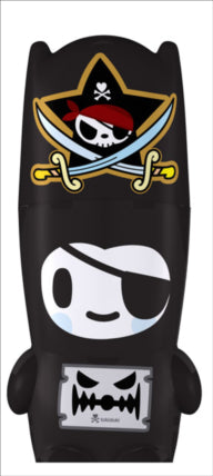 MIMOBOT® PIRATE NERO BY TOKIDOKI USB FLASHDRIVE