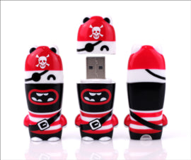 MIMOBOT® MARVIN THE PIRATE USB FLASHDRIVE