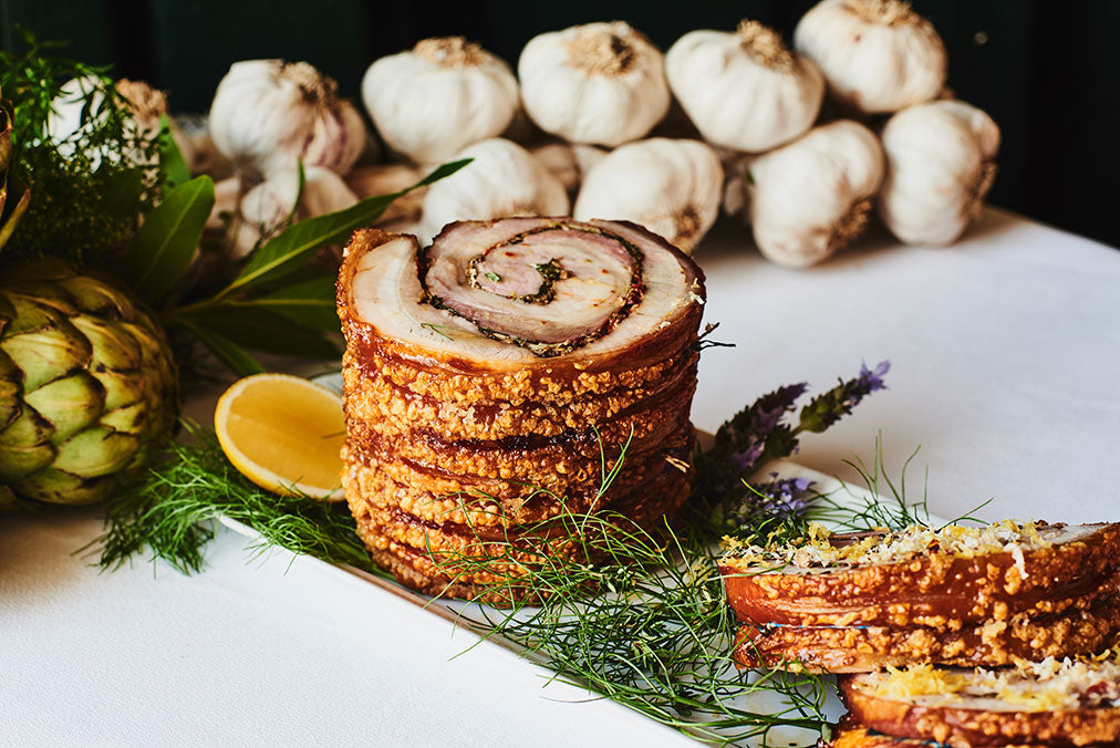 Seasoned Belly Porchetta