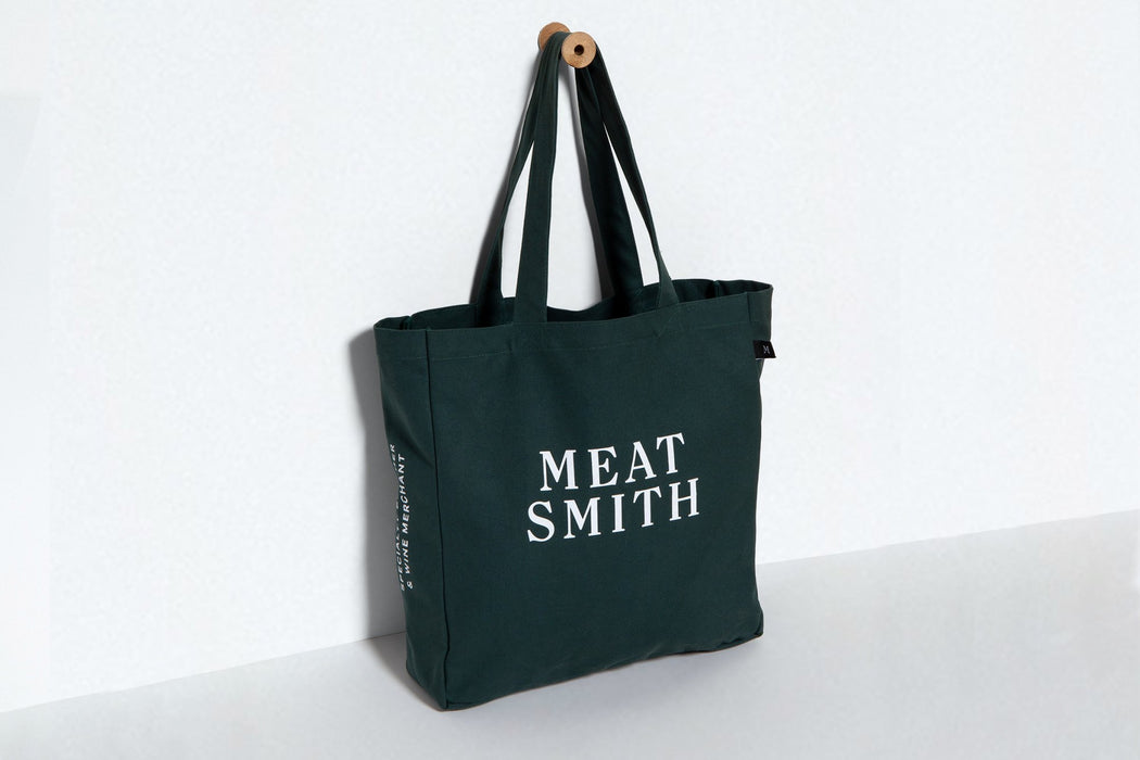 Meatsmith Green Tote